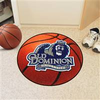 "Old Dominion Monarchs Basketball Rug 29"" diameter"