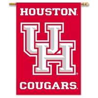 "Houston 2-Sided 28"" X 40"" Banner W/ Pole Sleeve"