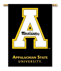 "Appalachian State 2-Sided 28"" X 40"" Banner W/ Pole Sleeve"