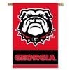 "BSI Products Georgia Bulldogs 2-Sided 28"" X 40"" Banner With Pole Sleeve"