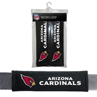 Arizona Cardinals Seat Belt Pad 2 Pack