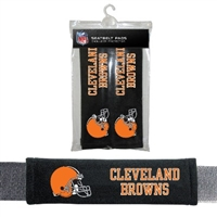 Cleveland Browns Seat Belt Pad 2 Pack