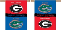 "BSI Products Georgia - Florida 2-Sided 28"" X 40"" Banner W/ Pole Sleeve House Divided"