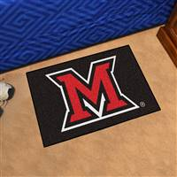 "Miami of Ohio Redhawks Starter Rug 20""x30"""