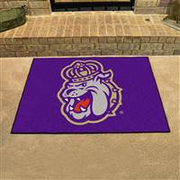 "James Madison Dukes All-Star Rug 34""x45"""