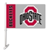 BSI Products Ohio State Buckeyes Car Flag