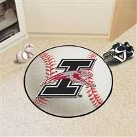 "University of Indianapolis Baseball Mat 27"" diameter"