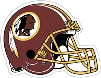 "Washington Redskins 12"" Vinyl Magnet"
