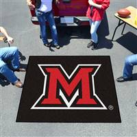 "Miami of Ohio Redhawks Tailgater Rug 60""x72"""