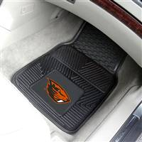 Oregon State Beavers 2-pc Heavy Duty Vinyl Car Mat Set