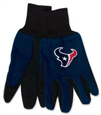 Houston Texans Two Tone Youth Size Gloves - Special Order
