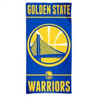 Golden State Warriors Towel 30x60 Beach Style