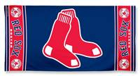 Boston Red Sox Towel 30x60 Beach Style