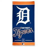 Detroit Tigers Towel 30x60 Beach Style
