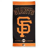 San Francisco Giants Towel 30x60 Beach Style