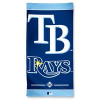Tampa Bay Rays Towel 30x60 Beach Style