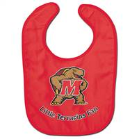 Maryland Terrapins Baby Bib All Pro