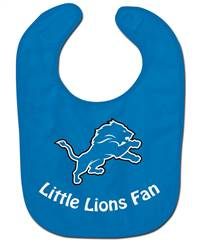 Detroit Lions All Pro Little Fan Baby Bib