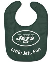 New York Jets All Pro Little Fan Baby Bib