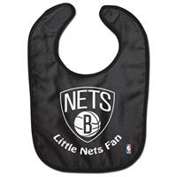 Brooklyn Nets Baby Bib All Pro Style - Special Order