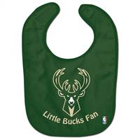 Milwaukee Bucks Baby Bib All Pro Style - Special Order