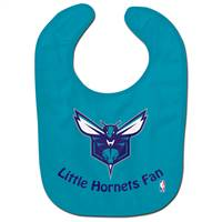 Charlotte Hornets Baby Bib All Pro Style - Special Order