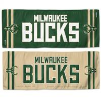 Milwaukee Bucks Cooling Towel 12x30 - Special Order