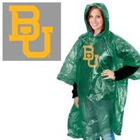 Baylor Bears Rain Poncho Special Order