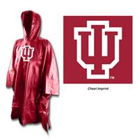 Indiana Hoosiers Rain Poncho Special Order