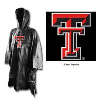 Texas Tech Red Raiders Rain Poncho Special Order