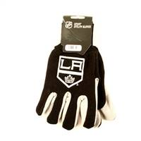 Los Angeles Kings Two Tone Gloves - Adult Size - Special Order