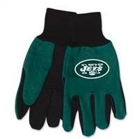 New York Jets Two Tone Adult Size Gloves
