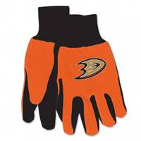 Anaheim Ducks Two Tone Gloves - Adult - Special Order