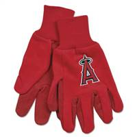 Los Angeles Angels of Anaheim Two Tone Gloves - Adult Size