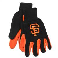 San Francisco Giants Two Tone Gloves - Adult Size - Special Order