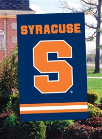 "Syracuse Orange Oversized 44"" x 28""  Applique Banner Flag"