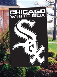 "Chicago White Sox MLB Oversized 44"" x 28"" Applique Banner Flag"