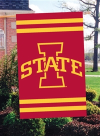 "Iowa State Cyclones Oversized 44"" x 28"" Applique Banner Flag"