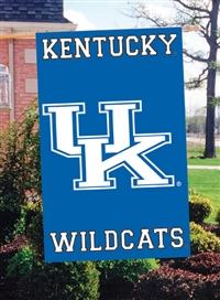 "Kentucky Wildcats Oversized 44"" x 28"" Applique Banner Flag"