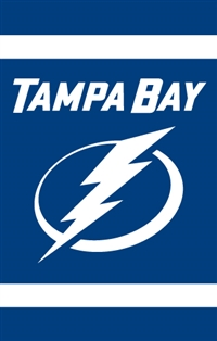 Tampa Bay Lightning Two Sided Banner Flag