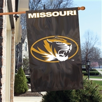 "Missouri Tigers Oversized 44"" x 28"" Applique Banner Flag"