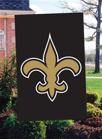 "The Party Animal  44"" x 28"" NFL New Orleans Saints Applique Banner Flag"