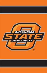"Oklahoma State Cowboys Oversized 44"" x 28"" Applique Banner Flag"