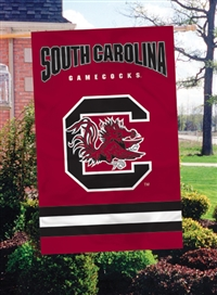 "South Carolina Gamecocks Oversized 44"" x 28"" Applique Banner Flag"