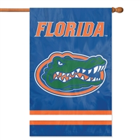 "Florida Gators Oversized 44"" x 28"" Applique Banner Flag"