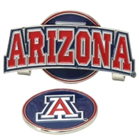 Arizona Wildcats Slider Hat Clip Ball Marker