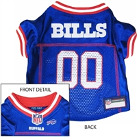 Buffalo Bills NFL Dog Jersey - Extra Small
