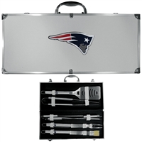 New England Patriots NFL 8 pc BBQ Set