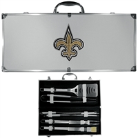 New Orleans Saints NFL 8 pc BBQ Set