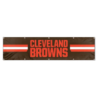 Cleveland Browns NFL 8' x 2' Giant Banner